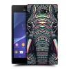 Пластиковый матовый дизайнерский чехол с принтом AcidAnimals для Sony Xperia M2 dual