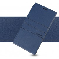 Чехол флип-подставка серии PureColor для Nokia Lumia 1520 Синий
