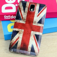 Встраиваемый пластиковый матовый дизайнерский чехол с принтом для Samsung Galaxy Note 3