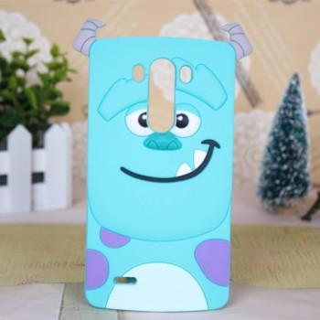 Силиконовый дизайнерский фигурный чехол  для LG G3 (Dual-LTE)