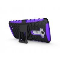 Силиконовый чехол экстрим защита для LG G3 (Dual-LTE) Фиолетовый