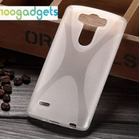 Силиконовый X чехол для LG G3 S Белый