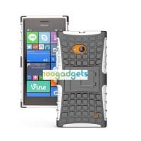 Силиконовый чехол экстрим защита для Nokia Lumia 730/735 Белый