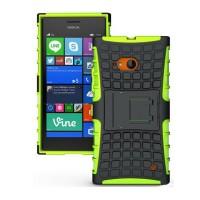Силиконовый чехол экстрим защита для Nokia Lumia 730/735 Зеленый