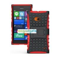 Силиконовый чехол экстрим защита для Nokia Lumia 730/735 Красный