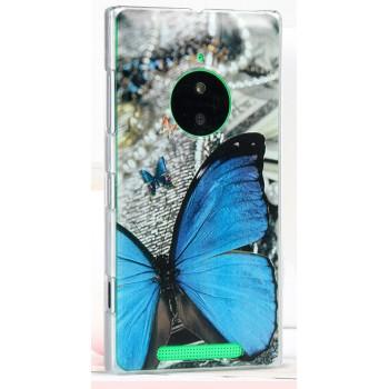 Пластиковый матовый дизайнерский чехол с принтом для Nokia Lumia 830