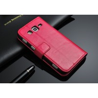 Чехол подставка с защелкой для Samsung Galaxy Core Advance Розовый