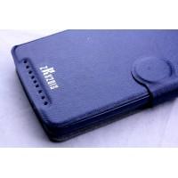 Чехол подставка с отделением для карт и застежкой для Acer Liquid Z500 Синий