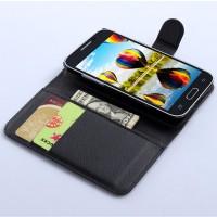 Чехол портмоне подставка с защелкой для Samsung Galaxy Core Prime