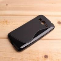 Силиконовый S чехол для Samsung Galaxy Core Prime Черный