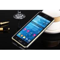 Металлический бампер для Samsung Galaxy Grand Prime Белый
