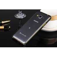 Металлический бампер для Samsung Galaxy Grand Prime Черный