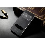 Чехол флип с окном вызова и свайпом для Samsung Galaxy Grand Prime