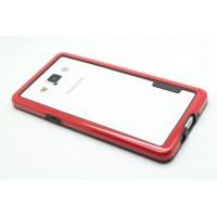 Силиконовый бампер для Samsung Galaxy A5 Красный