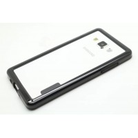 Силиконовый бампер для Samsung Galaxy A5 Черный