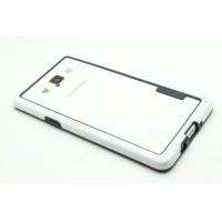 Силиконовый бампер для Samsung Galaxy A5 Белый
