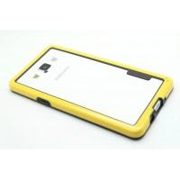 Силиконовый бампер для Samsung Galaxy A5 Желтый