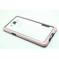 Силиконовый бампер для Samsung Galaxy A5 Розовый