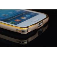 Металлический бампер с золотой окантовкой для Samsung Galaxy A5