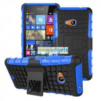 Силиконовый чехол экстрим защита для Microsoft Lumia 535 Синий