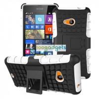 Силиконовый чехол экстрим защита для Microsoft Lumia 535 Белый