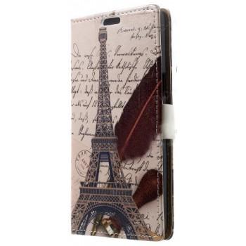 Принтованный чехол портмоне подставка с защелкой для Samsung Galaxy Grand Prime
