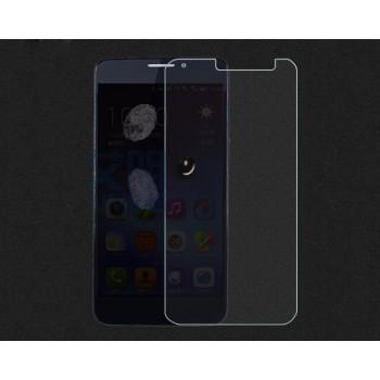Ультратонкое износоустойчивое сколостойкое олеофобное защитное стекло-пленка для Alcatel One Touch Idol X+