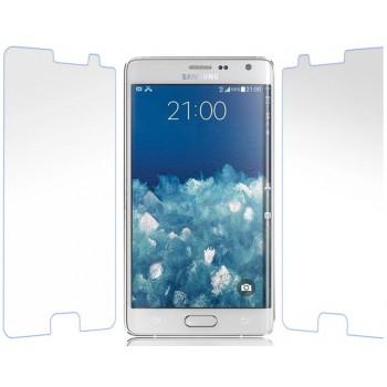 Ультратонкое износоустойчивое сколостойкое олеофобное защитное стекло-пленка для Samsung Galaxy Note Edge