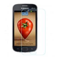 Ультратонкое износоустойчивое сколостойкое олеофобное защитное стекло-пленка для Samsung Galaxy Trend Lite