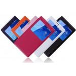 Чехол-подставка с окном вызова серии Colors для Huawei Honor 3c