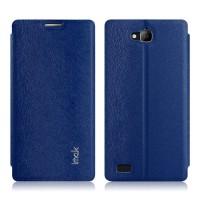 Текстурный чехол флип-подставка серии Imak для Huawei Honor 3c Синий