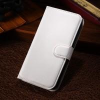 Чехол портмоне подставка с защелкой для Alcatel One Touch Pop C7 Белый