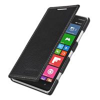 Кожаный чехол горизонтальная книжка (нат. кожа) для Nokia Lumia 830