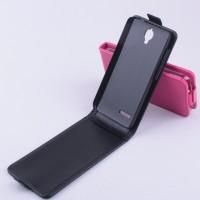 Чехол вертикальная книжка на пластиковой основе для Alcatel One Touch Idol 2 mini