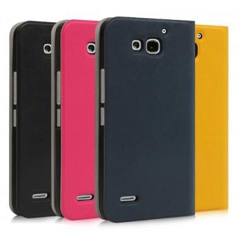 Чехол флип серии Colors для Huawei Honor 3x
