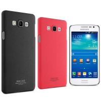 Пластиковый матовый чехол с повышенной шероховатостью для Samsung Galaxy A7