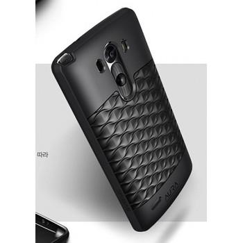 Силиконовый чехол серии FishScale для LG Optimus G3