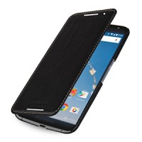 Кожаный чехол горизонтальная книжка (нат. кожа) для Google Nexus 6