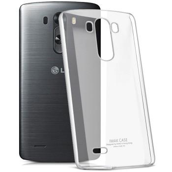 Пластиковый транспарентный чехол для LG G3 Stylus