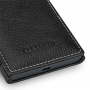 Кожаный чехол горизонтальная книжка (нат. кожа) с защелкой для Nokia Lumia 730/735