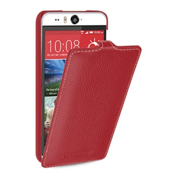 Кожаный чехол вертикальная книжка (нат. кожа) для HTC Desire Eye