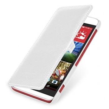 Кожаный чехол горизонтальная книжка (нат. кожа) с защелкой для HTC Desire Eye
