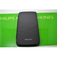 Оригинальный чехол флип на пластиковой основе для Philips V387 Xenium