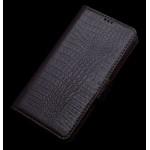 Кожаный чехол портмоне (нат. кожа крокодила) для Samsung Galaxy A3
