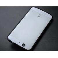 Металлический бампер для Huawei Ascend G7 Черный