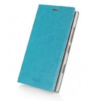 Чехол флип водоотталкивающий для Nokia Lumia 930 Голубой
