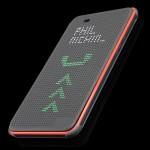 Точечный чехол смарт флип с функциями оповещения для HTC Desire 820