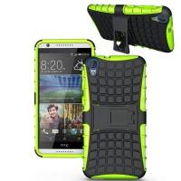 Силиконовый чехол экстрим защита для HTC Desire 820 Зеленый