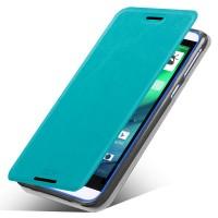 Чехол флип подставка водоотталкивающий для HTC Desire 820 Голубой