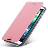 Чехол флип подставка водоотталкивающий для HTC Desire 820 Розовый
